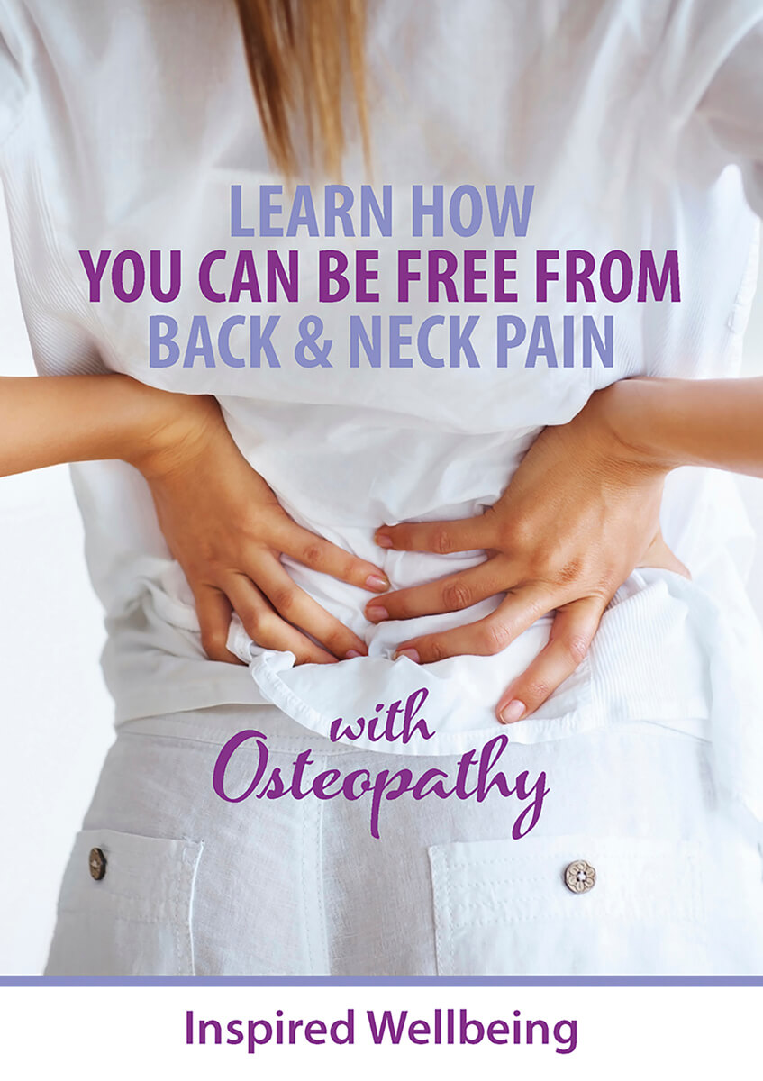 GET YOUR FREE E-BOOKS Learn How You Can Be Free From Back & Neck Pain