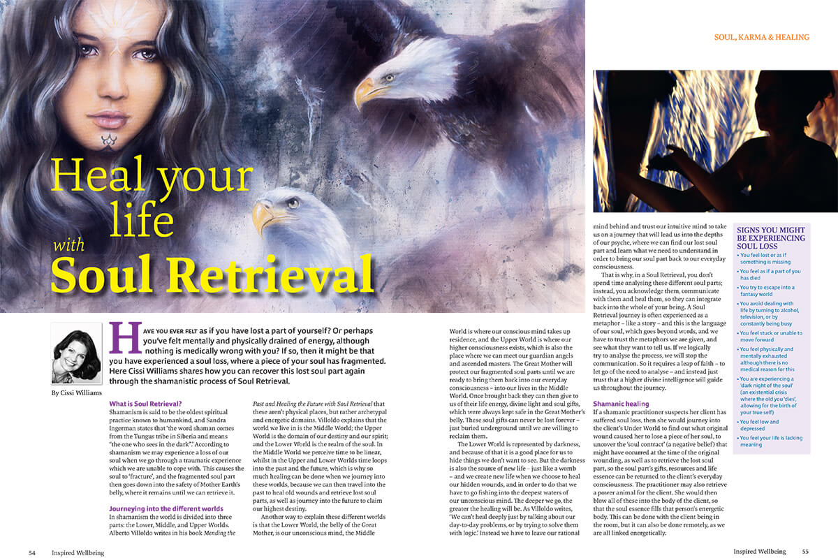 Article Heal your life with soul retrieval